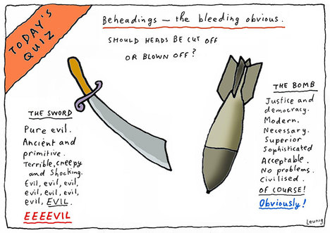 Michael Leunig's Beheadings
